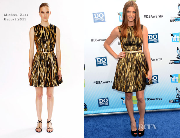 Ashley Greene In Michael Kors R13 - 2012 Do Something Awards