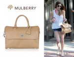Ashley Greene's Mulberry Del Rey Leather Tote