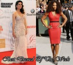 Best Dressed Of The Week - Mar Saura In Oscar de la Renta & Serena Williams In Victoria Beckham