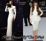 Best Dressed Of The Week - Beyonce Knowles In Marc Bouwer & Jessica Biel In Giambattista Valli Couture