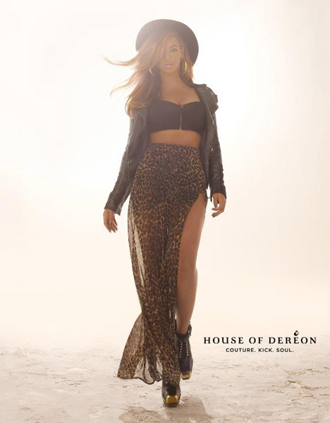 Beyonce Knowles For House of Dereon Fall 2012 Ad Campaign (2)