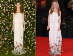 Brit Marling In Gucci - 'The Iceman' Venice Film Festival Premiere