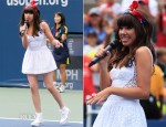 Carly Rae Jepsen In Ani Lee – 2012 Arthur Ashe Kids' Day