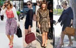 Celebrities Love...Fendi '2Jours Elite' Leather Shopper