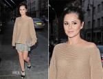 Cheryl Cole In The Row & Helmut Lang - Scott's Restaurant