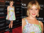 Chloe Sevigny In Versace Jeans Couture - 'Lawless' New York Premiere