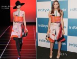 Christa B. Allen In Giorgio Armani - 11th Annual InStyle Summer Soiree