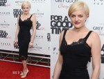 """Elisabeth Moss In Dolce & Gabbana – """"For A Good Time, Call..."""" New York Premiere"""