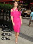 Best Dressed Of The Week - Emmy Rossum In Monique Lhuillier