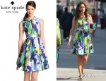 Emmy Rossum's Kate Spade New York Carissa Dress