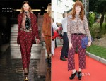 Florence Welch In Miu Miu - 'Women's Tales' Venice Film Festival Premiere