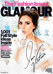 Victoria Beckham For Glamour US September 2012
