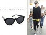 Gwen Stefani's Stella McCartney Round Sunglasses