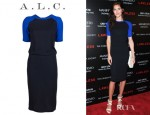 Hilary Rhoda's A.L.C. Betsee Dress