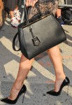 Jessica Biel - Fendi '2Jours Elite' Leather Shopper
