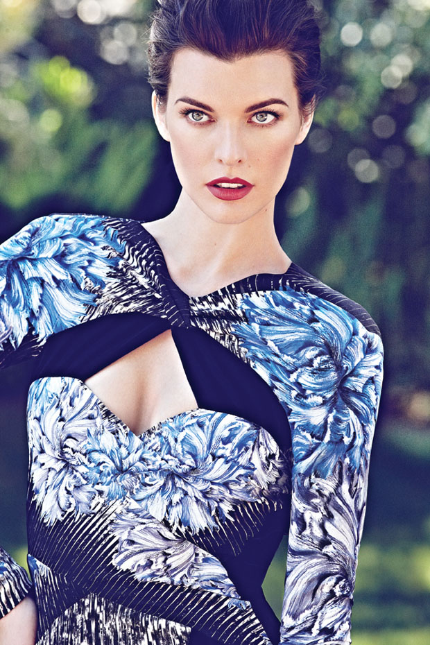 Milla Jovovich in Peter Pilotto