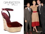 Jaime King's Giambattista Valli Wedge Sandals