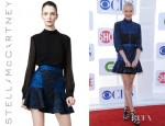 Jaime King's Stella McCartney Brocade Circle Skirt