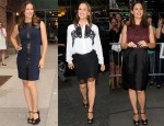 Jennifer Garner In YSL, No.21 & Jason Wu - 'The Odd Life of Timothy Green' Promo Tour