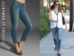 Jennifer Garner's Citizens Of Humanity Cropped Thompson Skinny Jeans