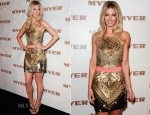 Jennifer Hawkins In Sass & Bide - MYER Spring Summer 2013 Launch
