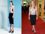 Jennifer Lawrence In Narciso Rodriguez - Hollywood Foreign Press Association's 2012 Installation Luncheon
