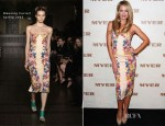 Jesinta Campbell In Manning Cartell - MYER Spring Summer 2013 Launch