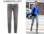 Jessica Alba's Current/Elliott Star Stiletto Northern Star Skinny Jeans