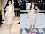 Jessica Biel In Giambattista Valli Couture - 'Total Recall' London Premiere