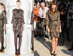 Jessica Biel In Giambattista Valli - The Daily Show with Jon Stewart