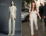 Jessica Biel In Valentino - Out In London
