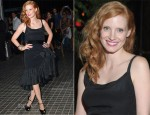 Jessica Chastain In Vintage YSL - 'Lawless' New York Premiere