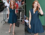 Jessica Chastain in YSL – Good Morning America