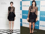 Jessica Pare In Jason Wu - 11th Annual InStyle Summer Soiree