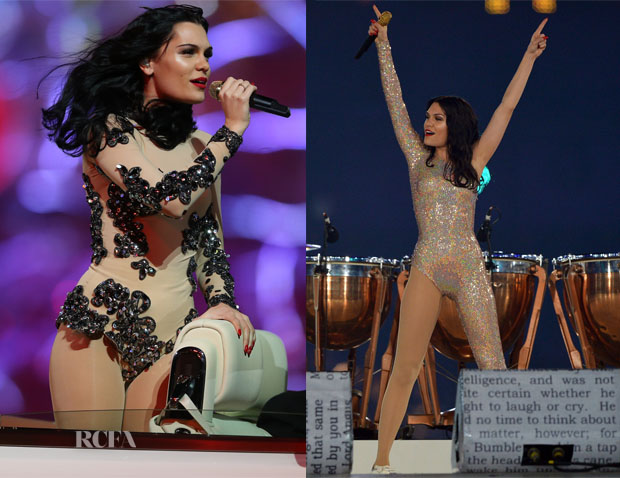 Jessie J In Vivienne Westwood - 2012 Olympic Games Closing Ceremony