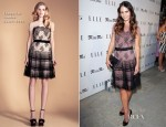 Jordana Brewster In Temperley London - ELLE and Miss Me Party
