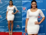 Jordin Sparks In Bebe - 12th Annual US Open Night Ceremony