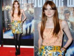 Karen Gillan In Dolce & Gabbana - 'Doctor Who: Asylum Of The Daleks' London Screening