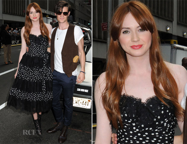 Karen Gillan In Dolce & Gabbana - 'Doctor Who' New York Premiere
