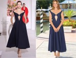 Kasia Smutniak In Jil Sander - 69th Venice International Film Festival Photocall