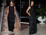 Kasia Smutniak In Valentino - Venice Film Festival Dinner