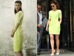 Kate Beckinsale In Preen - Corinthia Hotel