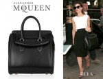 Kate Beckinsale's Alexander McQueen Heroine Leather Tote
