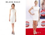 Kate Lang Johnson's Black Halo Alexander Dress