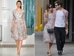 Keira Knightley In Erdem - Out In New York City