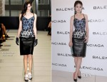 Kelly Chen In Balenciaga - Balenciaga Store Party