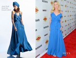 Kirsten Dunst In Jean Paul Gaultier - 'Bachelorette' LA Premiere