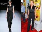 Kristen Bell In Jenny Packham - 'Hit and Run' LA Premiere