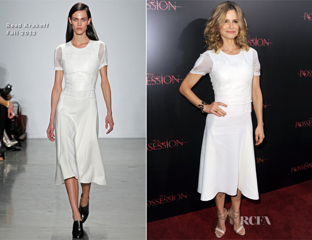 Kyra Sedgwick In Reed Krakoff - 'The Possession' LA Premiere