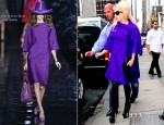 Lady Gaga Wears Dior & Armani On The Same Day